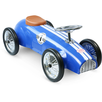 Blue Racing Ride On Car by Vilac