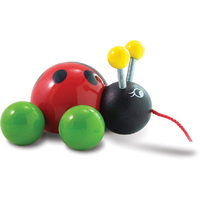Baby Lady Bird Pull Toy by Vilac