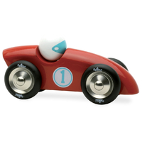 Vilac Large Competition Car - Red