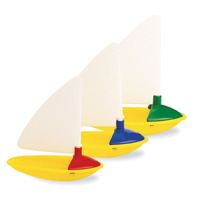Three Little Boats by Ambi