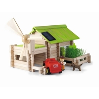 Ecological - 145 Piece Wooden Construction Set