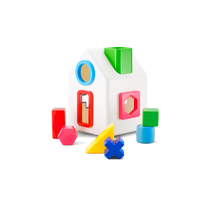 Sort-a-Shape House by Kid O