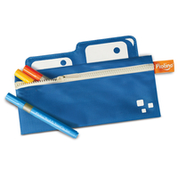 Mess Eaters: Pencil Case - Blue by P'kolino
