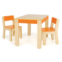 Little One's Table and Chairs - Orange