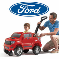 2-in-1 Ford F-150 SVT Raptor - Red