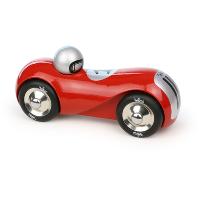 Vilac Red Streamline Wooden Car Toy