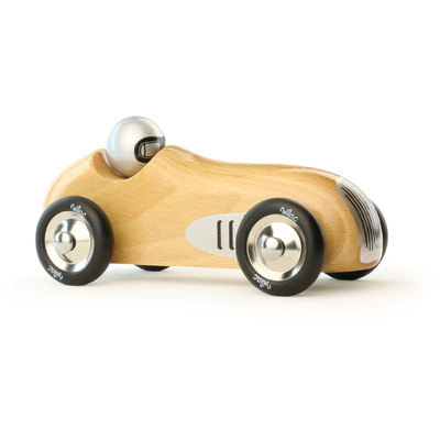 Natural Wooden Toy Sport Car by Vliac