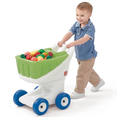 Little Helpers Grocery Cart - Green
